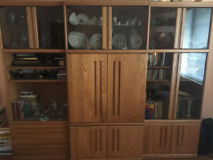 Wall Unit Palliser for sale