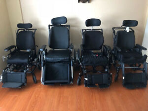 Tilt Wheelchairs with Roho Cushion Seat