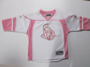 Girls Fall Winter Lot #23 - size 5/6 Ottawa Senators Jersey