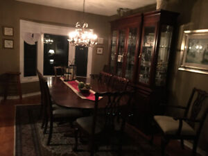 West brothers 11 piece formal dining room set