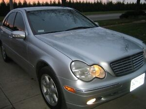 2001 Mercedes-Benz C-Class Silver Sedan