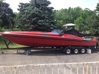 Scorpion 312 With Manning trailer