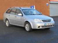 2008/08 Chevrolet Lacetti 1.6 SX Estate, 12 months mot, Hpi clear, 64000 miles