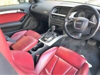 2008 Audi A5 4.2 FSI Tiptronic Quattro 2dr Petrol black Semi Auto