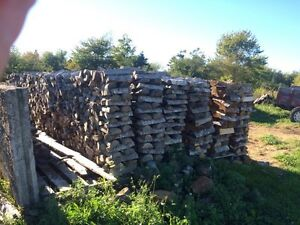 Seasoned hardwood firewood $275 a cord delivered