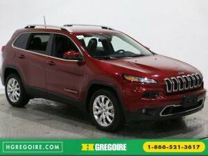 2016 Jeep Cherokee LIMITED AUTO A/C NAV CUIR MAGS