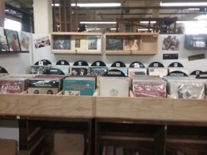 Lp's,  coins, tools, vintage stereos plus 1000 booths