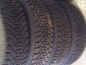 215 65 16SNOWS ON RIMS  DODGE CARAVAN 2004 ??? CALL FOR FITMAN Kitchener / Waterloo Kitchener Area image 4
