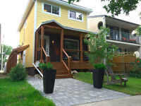 """""""WEST COAST STYLE"""" TOWNHOUSE STYLE APARTMENT IN OLD ST. BONIFACE"""