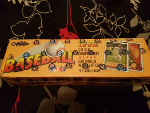 Unopened 1992 O Pee Chee Baseball Card Box