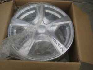 NEW Touren TR9 Wheels Rims 16x7, 5/127 Hyper Silver