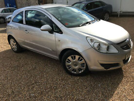 2006 '56' Vauxhall Corsa 1.2 CLUB. Petrol. Manual. 3 Door First Car. Px Swap