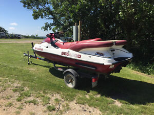 SeaDoo LRV For Sale with trailer! Low Hours!