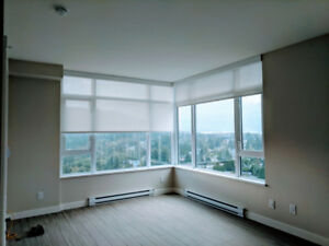 Burquitlam 2-Bed-2-Bath High-end Condo for Rent (817 sq ft)