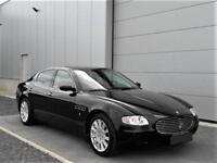 2004 Maserati Quattroporte 4.2i V8 32v Aut. Black 36000 miles LHD