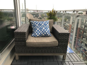 High End Extra Wide Outdoor Lounge Chair