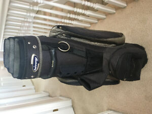 Golf bag used twice