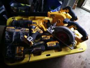 DeWalt 18v tools. Offers welcomed...trade as well