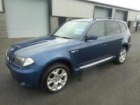 BMW X3 AUTO 5 DOOR MANUAL PETROL LEATHER SAT NAV 86000 MILES