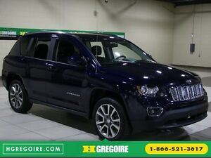 2015 Jeep Compass Limited 4WD AUTO A/C CUIR MAGS BLUETOOTH