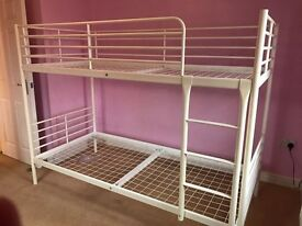 High Quality Bunk Bed in excellent condition from IKEA in white £50