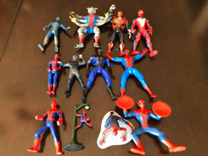 MARVEL SPIDER-MAN ACTION FIGURES AND VEHICLES