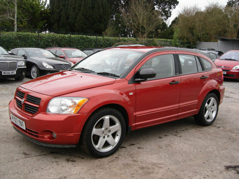 low mileage 2007 dodge caliber 2 0td sxt sport diesel 6 speed man full serv h. Cars Review. Best American Auto & Cars Review