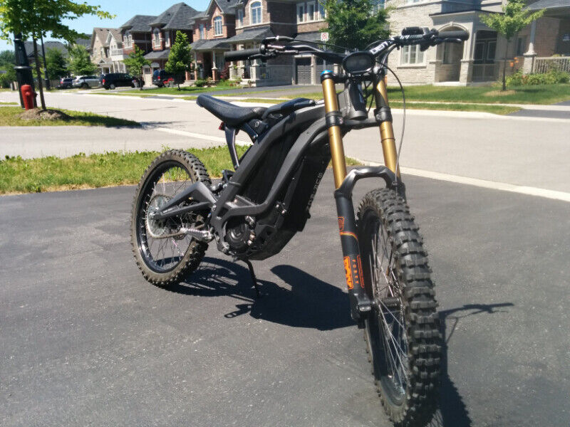 Test ride Sur Ron Light Bee with Fox suspension | eBike | Markham