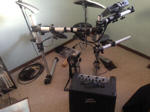 yamaha electric drum kit
