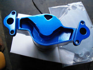 SMALL BLOCK MAGNUM MOPAR RED ELECTRIC WATER PUMP MOUNTING PLATE London Ontario image 2