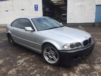 BREAKING BMW E46 3 series 325Ci Coupe Titan Silver