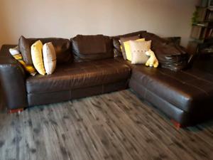 Magnifique grand canapé d angle