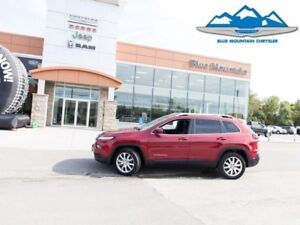 2017 Jeep Cherokee Limited  - Low Mileage