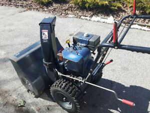 almost new snow blower