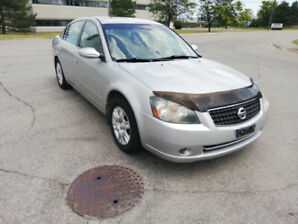2006 Nissan Altima S 2.4 Lit Eng.certified plus 1 year warranty