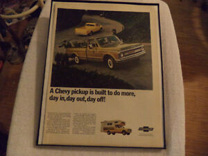 OLD CLASSIC CAR ford & chev PICKUP ADS Windsor Region Ontario image 3