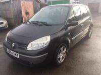 2004 04 Renault Scenic 1.9dCi Dynamique, WARRANTY, SPARE KEY