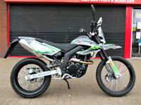 MOTORINI SXR 125 ENDURO EURO 4 BRAND NEW 2 YEAR WARRANTY FINANCE