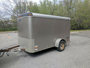 United 6' X 10' Enclosed Trailers with Drop Down Ramp