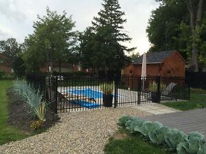 clôture résidentiel à bas prix