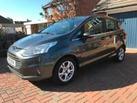 Ford B-Max Zetec 1.4 ( 90ps ) Petrol Manual 5 Door