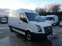 VOLKSWAGEN CRAFTER 2.5 BlueTDi (136PS) | MWB - HIGH ROOF | 1 OWNER | 2009 MODEL