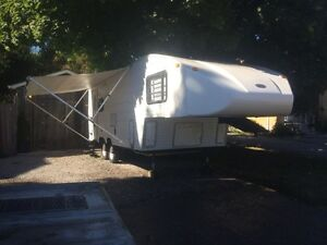1994 sunrise 24ft 5th wheel Stratford Kitchener Area image 1