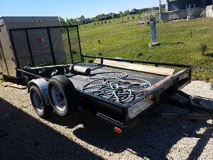 2015 Utility trailer for sale like NEW! Well built