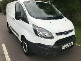 2016 66 FORD TRANSIT CUSTOM 2.2TDCI 100BHP 290 L1H1 1 OWNER ANY UK DELIVERY