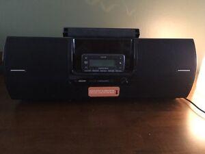 Sirius Satellite Radio with Boom Box