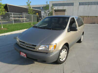 2000 Toyota Sienna, Automatic, up to 3 years warranty.Certified