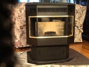 Pellet stove only used 1 season