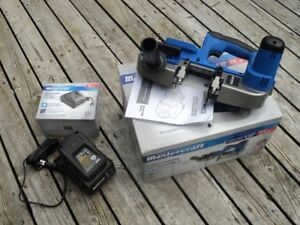 20V Cordless Band Saw, 20V Battery & Charger - New & Unused