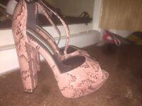 Size 4 Miss Selfridge Heels!
